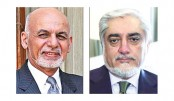 Blasts heard as duelling Afghan leaders swear themselves in