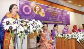 Protest violence against women: Speaker