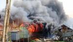 Rupnagar slum catches fire