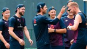 England cricketers to ditch handshake for 'fist pump' over coronavirus