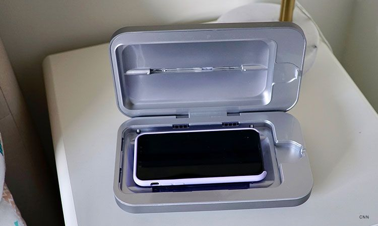 Consumers snap up PhoneSoap to sanitize cell phones