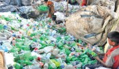 Plastic waste recycling for environment and employment