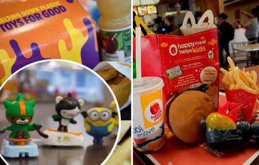 McDonald's to scrap plastic in UK 'Happy Meal' toys
