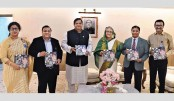 PM unveils book on Bangabandhu family's role in sports