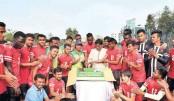 Sk Jamal, Sk Russel celebrate Bangabandhu's birth centenary