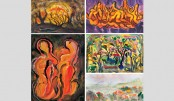 Zahangir's 2nd solo painting exhibition begins at Dhaka Gallery today