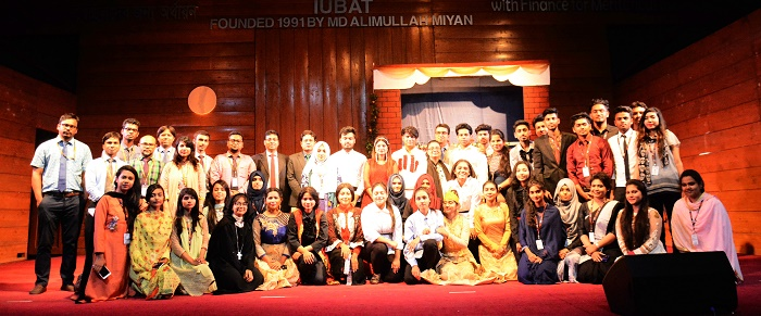 IUBAT's Dept of English stages Drama Romeo and Juliet