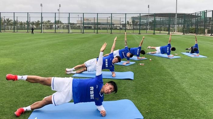 'Blessing amid misfortune': the Chinese football club at coronavirus ground zero