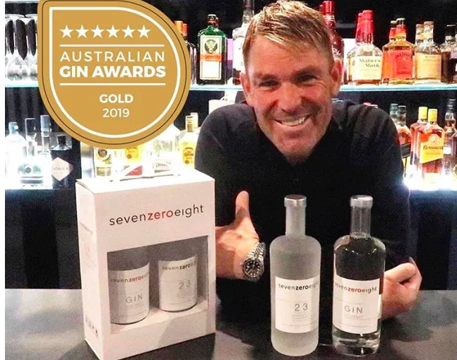 Shane Warne's gin company begins producing hand sanitiser