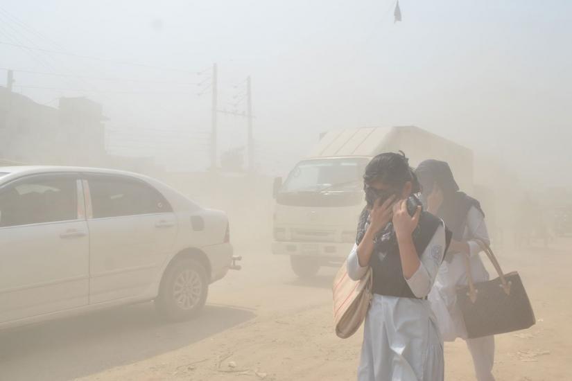 Dhaka's air worst again in AQI