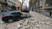 Quake damages buildings in Croat capital Zagreb