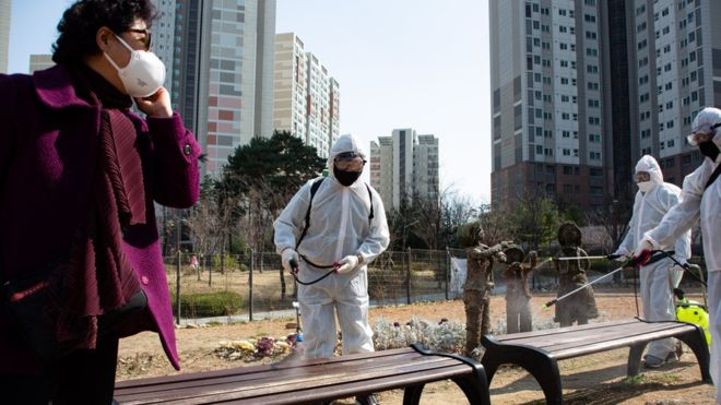 Coronavirus: South Korea reports lowest number of new cases in four