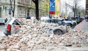 Powerful quake damages buildings in Croatia capital