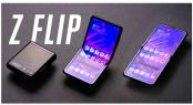 Samsung Galaxy Z Flip: futuristic folding smartphone on the go