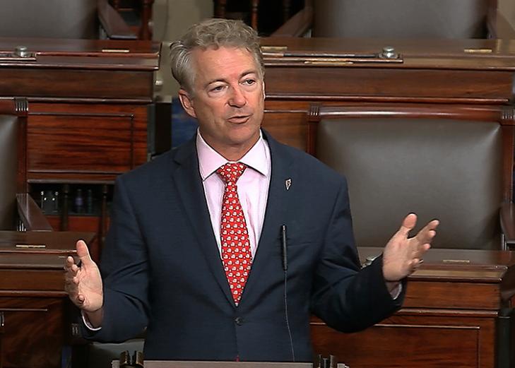 US senator with coronavirus is isolating at home