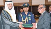 New Saudi envoy presents credentials to President