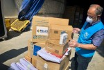 UNHCR's airlift with vital medical aid lands in Iran