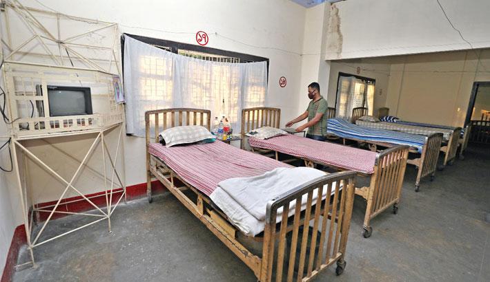 Bangladesh Railway Hospital in CRB area prepared for quarantine