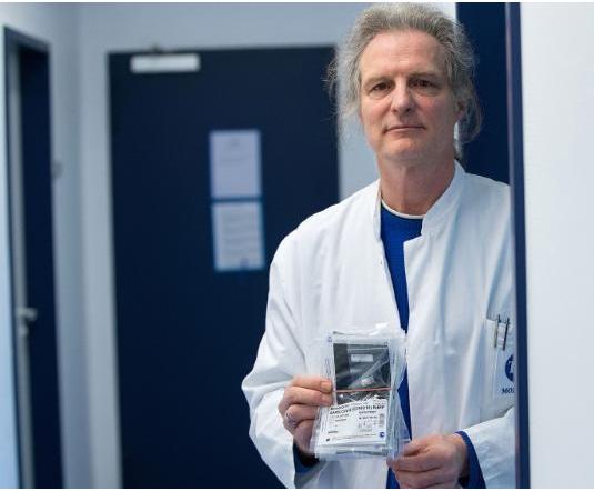 German scientist made coronavirus test kit in 24 hours