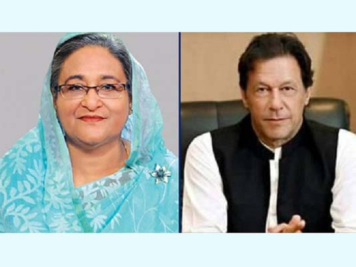 Pakistan PM greets Sheikh Hasina on Independence Day