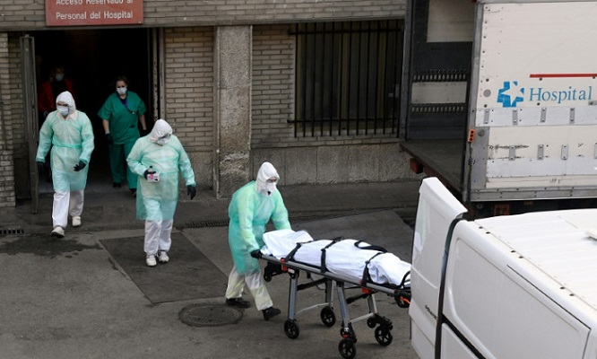 World leaders to hold crisis talks as virus toll tops 21,000