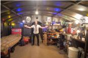 Man builds coronavirus self-isolation bunker