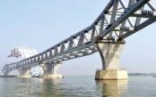4.05km of Padma Bridge visible as 27th span installed