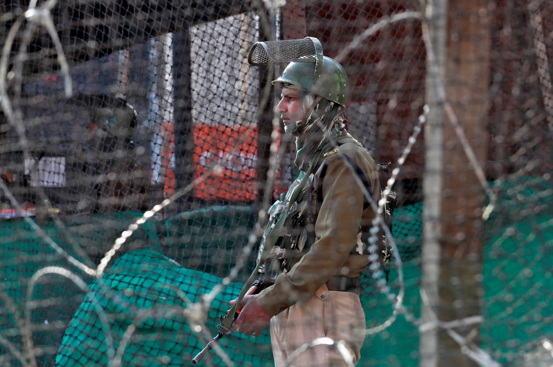India's Kashmir sees second COVID-19 death