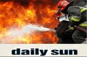 Three burnt in Bhasantek fire