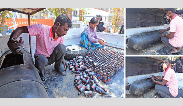 RAB seizes huge quantity of phensidyl from a CNG