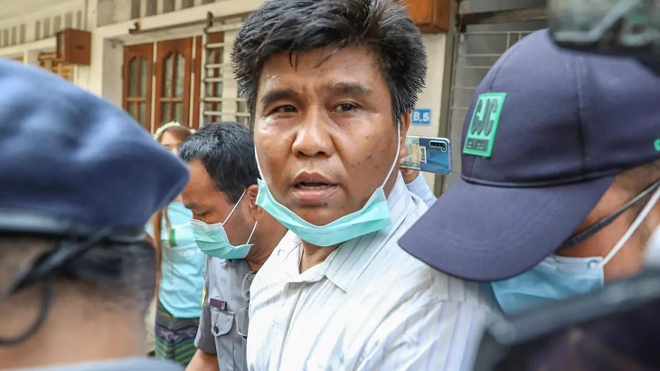Myanmar journalist hit with terrorism charges for interviewing insurgents
