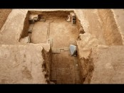 Ancient tomb discovered in northwest China