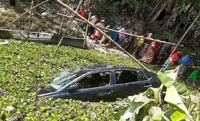 Couple among three killed in Cumilla road crash
