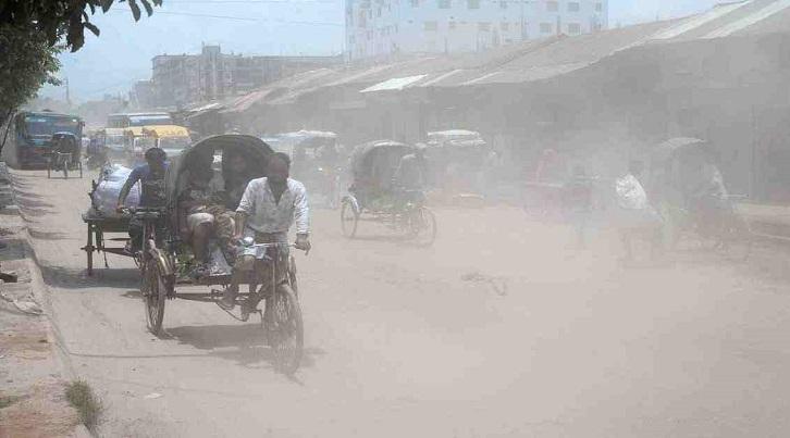 Dhaka's air still 'unhealthy'