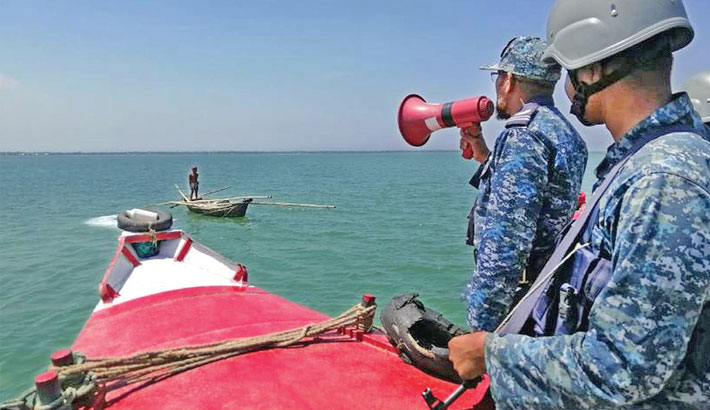 Navy creating awareness among sea fishermen
