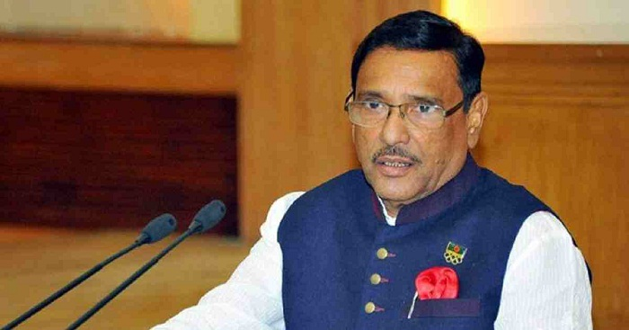 No politics, stand by people: Quader to BNP