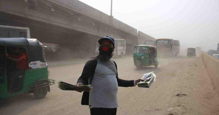 Dhaka's air still 'unhealthy' in Air Quality Index
