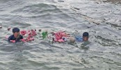 Chinese company's staff saves three from drowning