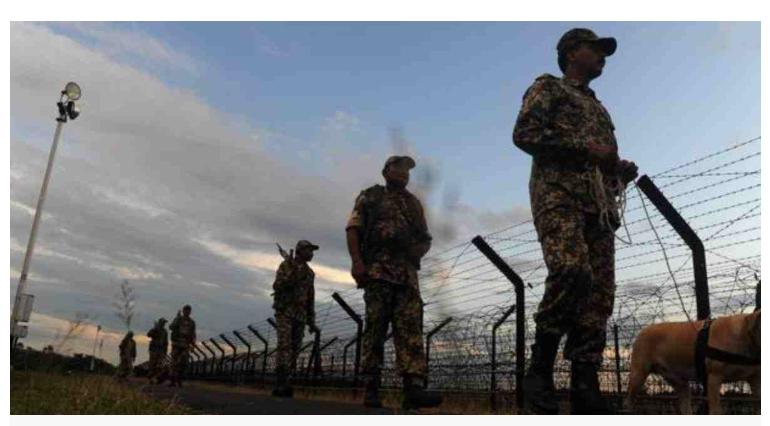 "Apr 1 Border Killing: BSF identifies victim as ""drug smugglers"""
