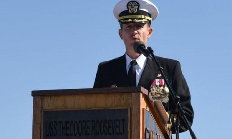 Coronavirus: US Navy removes Captain Brett Crozier who raised alarm