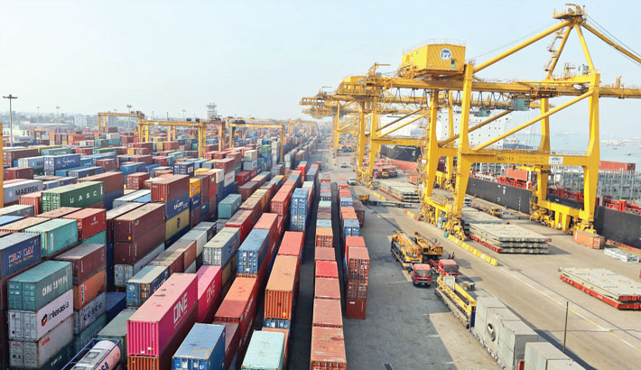 Containers pile up at Ctg Port