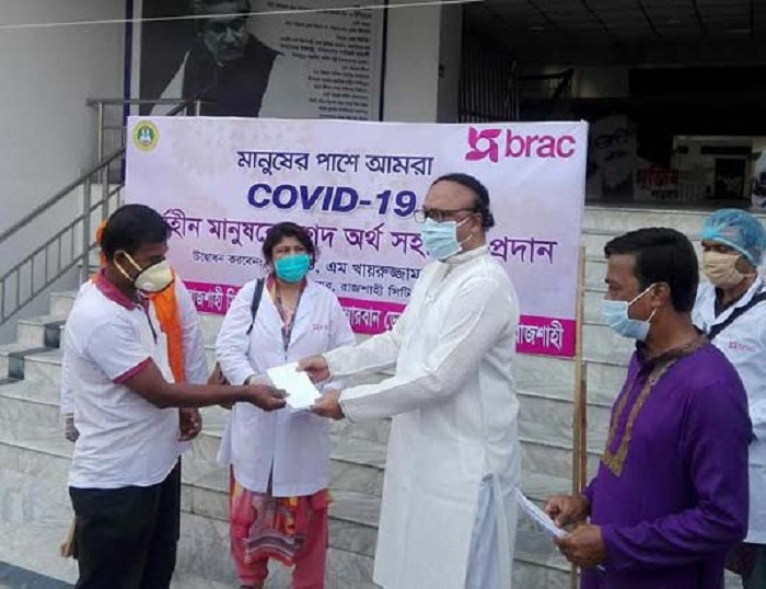 4,000 underprivileged families get Taka 60 lakh in Rajshahi