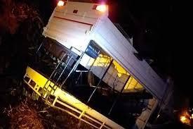 17 cops hurt as pick-up van overturns in Khagrachari