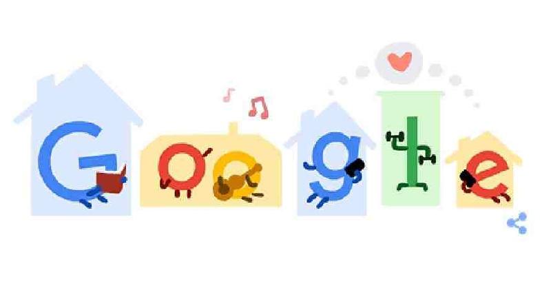 Google joins coronavirus awareness campaign with new doodle