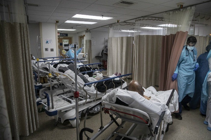 US records 1,169 virus fatalities, new global daily high: Johns Hopkins
