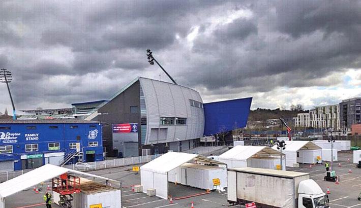 Edgbaston Cricket Ground in Birmingham is to become coronavirus test centre