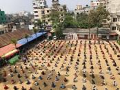 Vatara police distribute essentials to 600 families