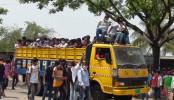 RMG workers returning to capital ignoring shutdown