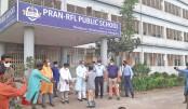 PRAN-RFL Group  gives food items  to poor people