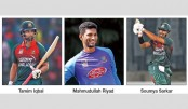 Cricketers spend family days
